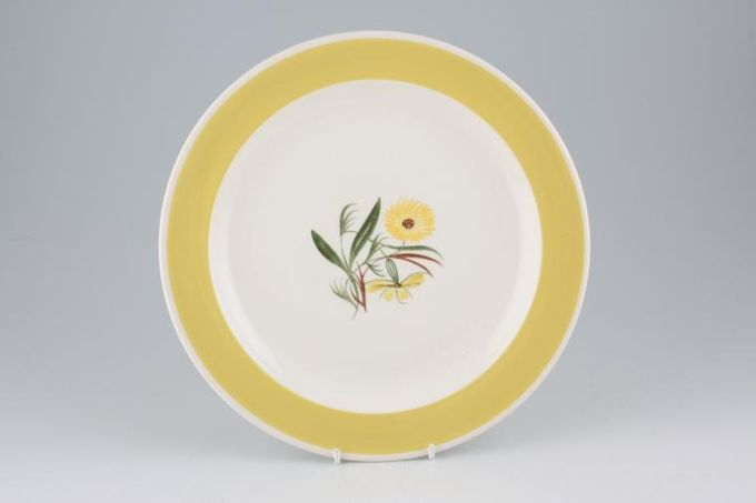 "Susie Cooper Marigold Dinner Plate 10"""