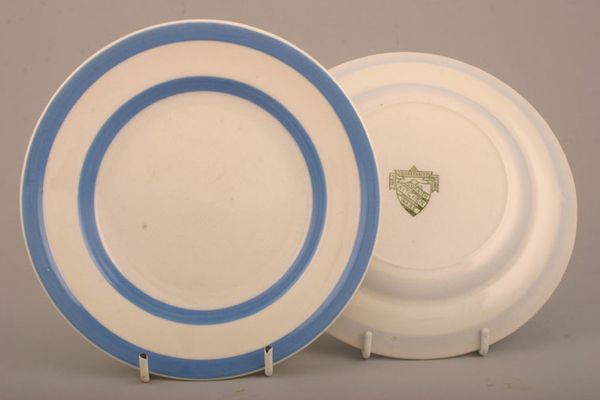 T G Green Cornishware - Blue and White - Backstamp 1 - 1920's - late 1967