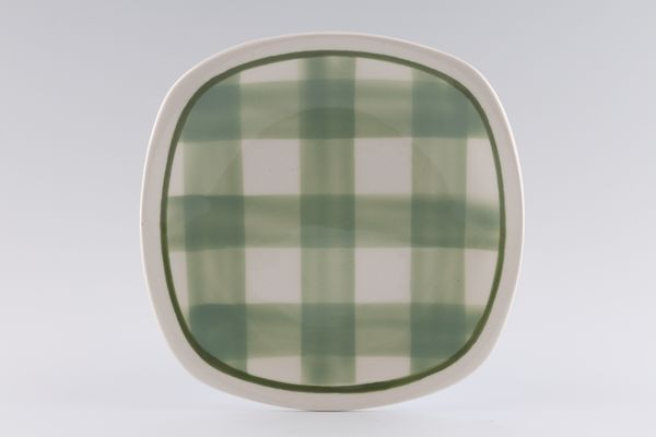 T G Green Patio Gingham - Green
