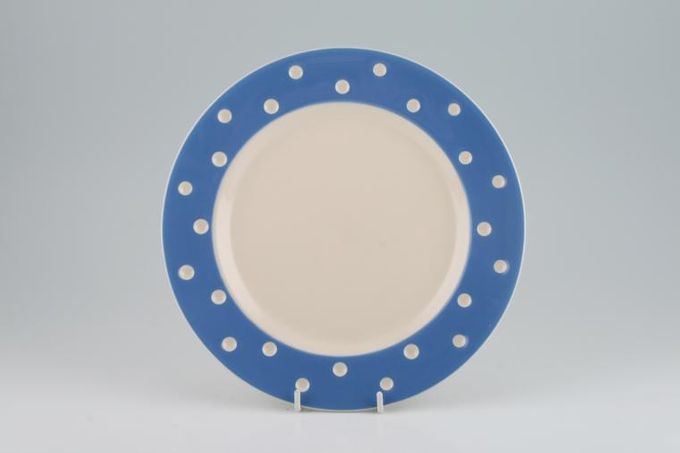 T G Green Domino Blue - New Backstamp Breakfast / Salad / Luncheon Plate 8 3/4""