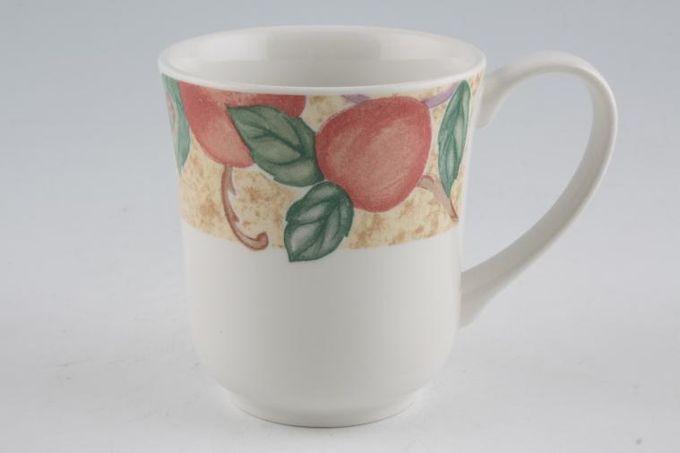 "Tesco Orchard Mug 3 1/2 x 3 7/8"""