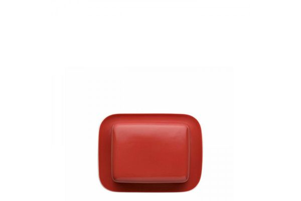 Thomas Sunny Day - New Red Butter Dish + Lid