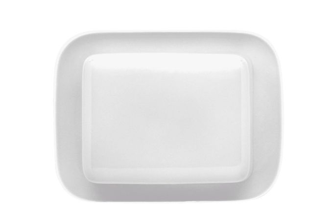 Thomas Sunny Day - White Butter Dish + Lid