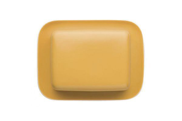 Thomas Sunny Day - Yellow Butter Dish + Lid