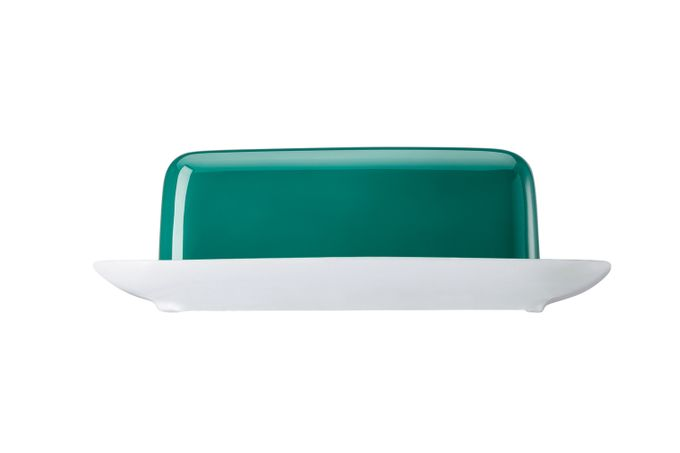 Thomas Sunny Day - Seaside Green Butter Dish + Lid