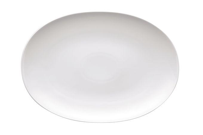"""Thomas Medaillon White Oval Plate / Platter 15"""""""