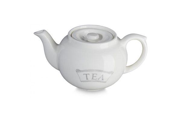 Burleigh Dove Grey Pantry Teapot Teapot for One