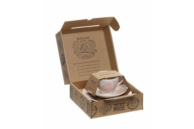Burleigh Pink Asiatic Pheasant Teacup Gift Set