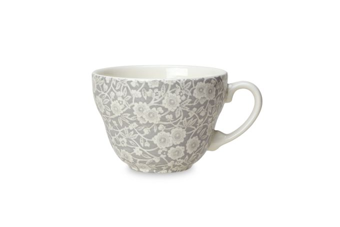 Burleigh Dove Grey Calico Breakfast Cup