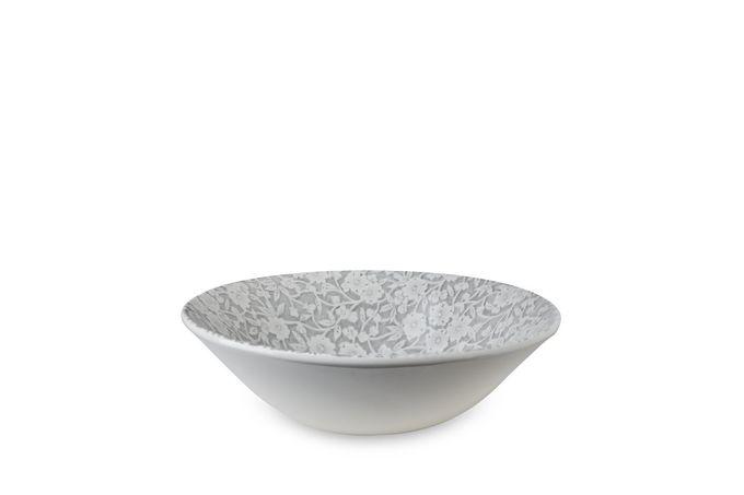 Burleigh Dove Grey Calico Cereal Bowl