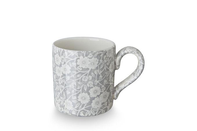 """Burleigh Dove Grey Calico Mug 3 1/8 x 3 1/4"""""""
