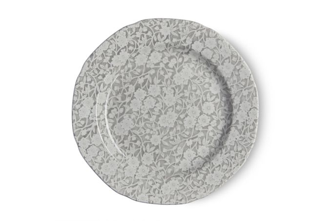Burleigh Dove Grey Calico Side Plate 21.5cm