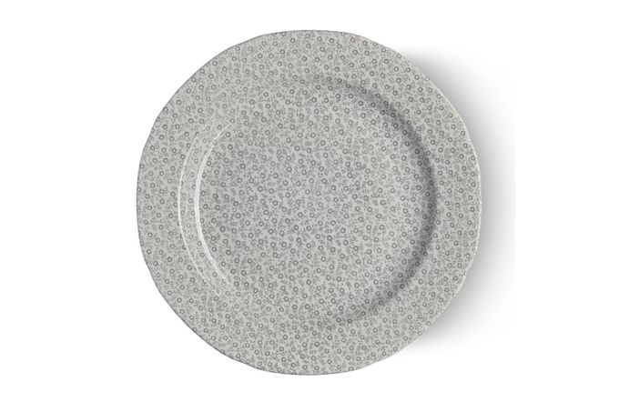 "Burleigh Dove Grey Felicity Dinner Plate 10 1/2"""