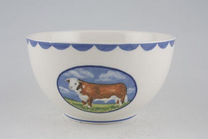 """Burleigh Animal Farm Sugar Bowl - Open (Tea) 4 3/4"""""""