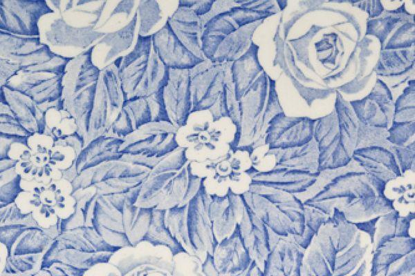 Burleigh Victorian Chintz - Blue