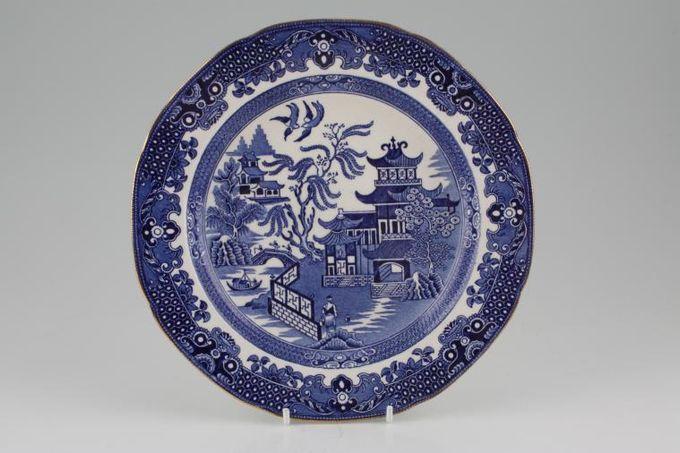 """Burleigh Willow - Blue Starter / Salad / Dessert Plate 8 1/2"""""""