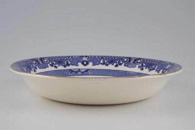 "Burleigh Willow - Blue Bowl 7 3/4"""