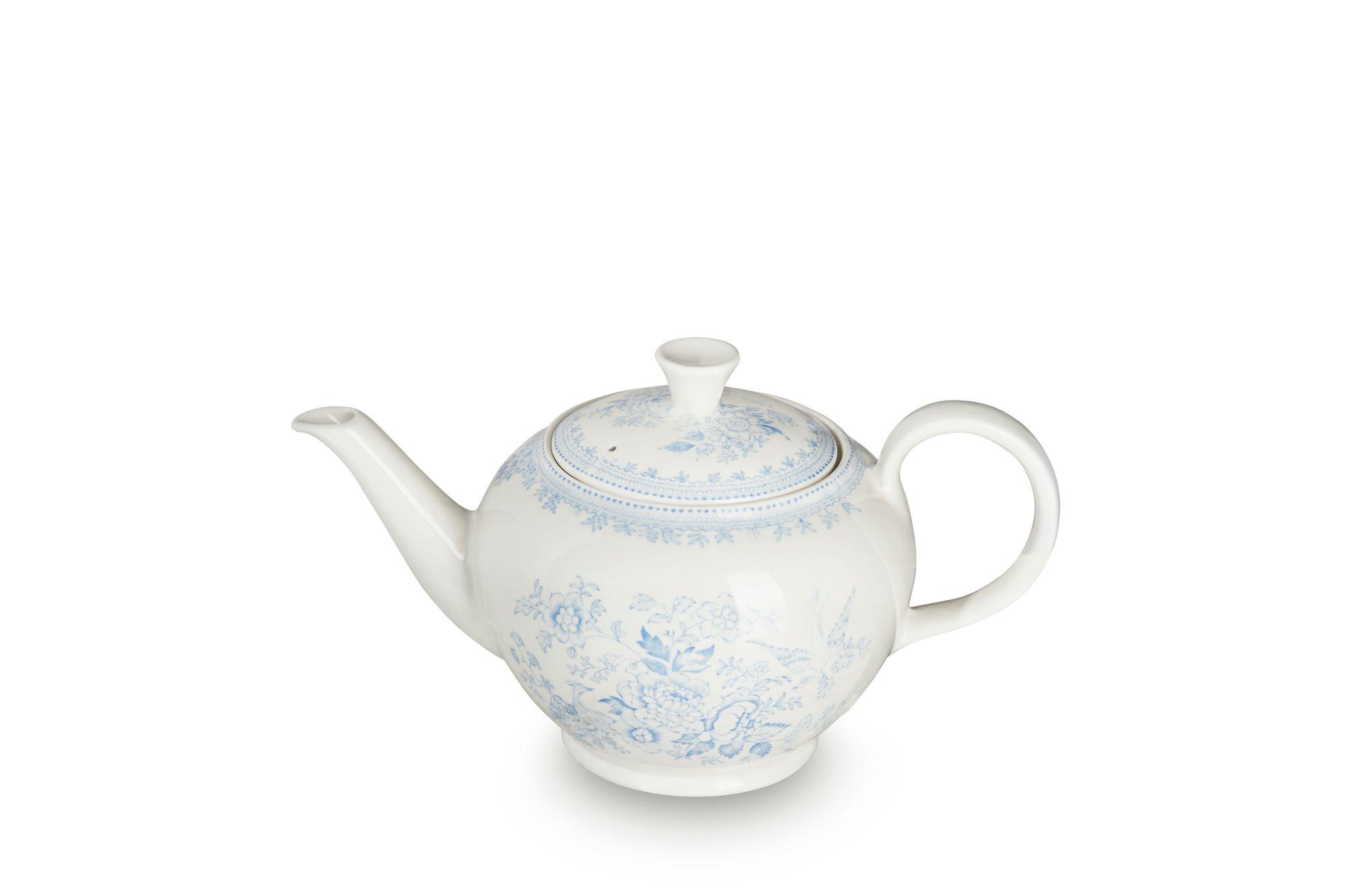 Burleigh Blue Asiatic Pheasants Teapot 1 3/4pt thumb 3
