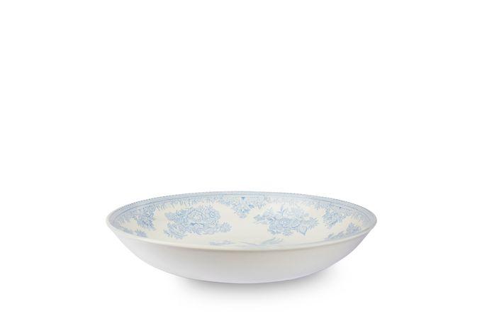 "Burleigh Blue Asiatic Pheasants Pasta Bowl 9"""