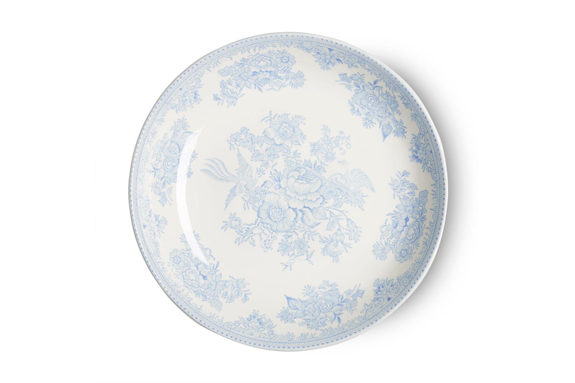 "Burleigh Blue Asiatic Pheasants Pasta Bowl 9"" thumb 2"