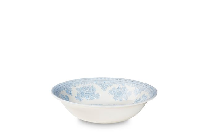 """Burleigh Blue Asiatic Pheasants Soup / Cereal Bowl 8"""""""