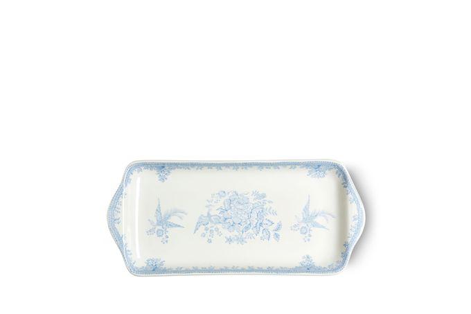 "Burleigh Blue Asiatic Pheasants Sandwich Tray 11"""