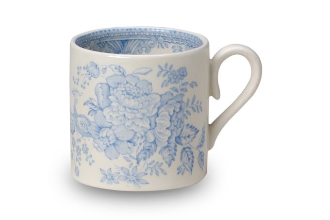 "Burleigh Blue Asiatic Pheasants Mug Mini Mug 2 3/4 x 2 3/4"""