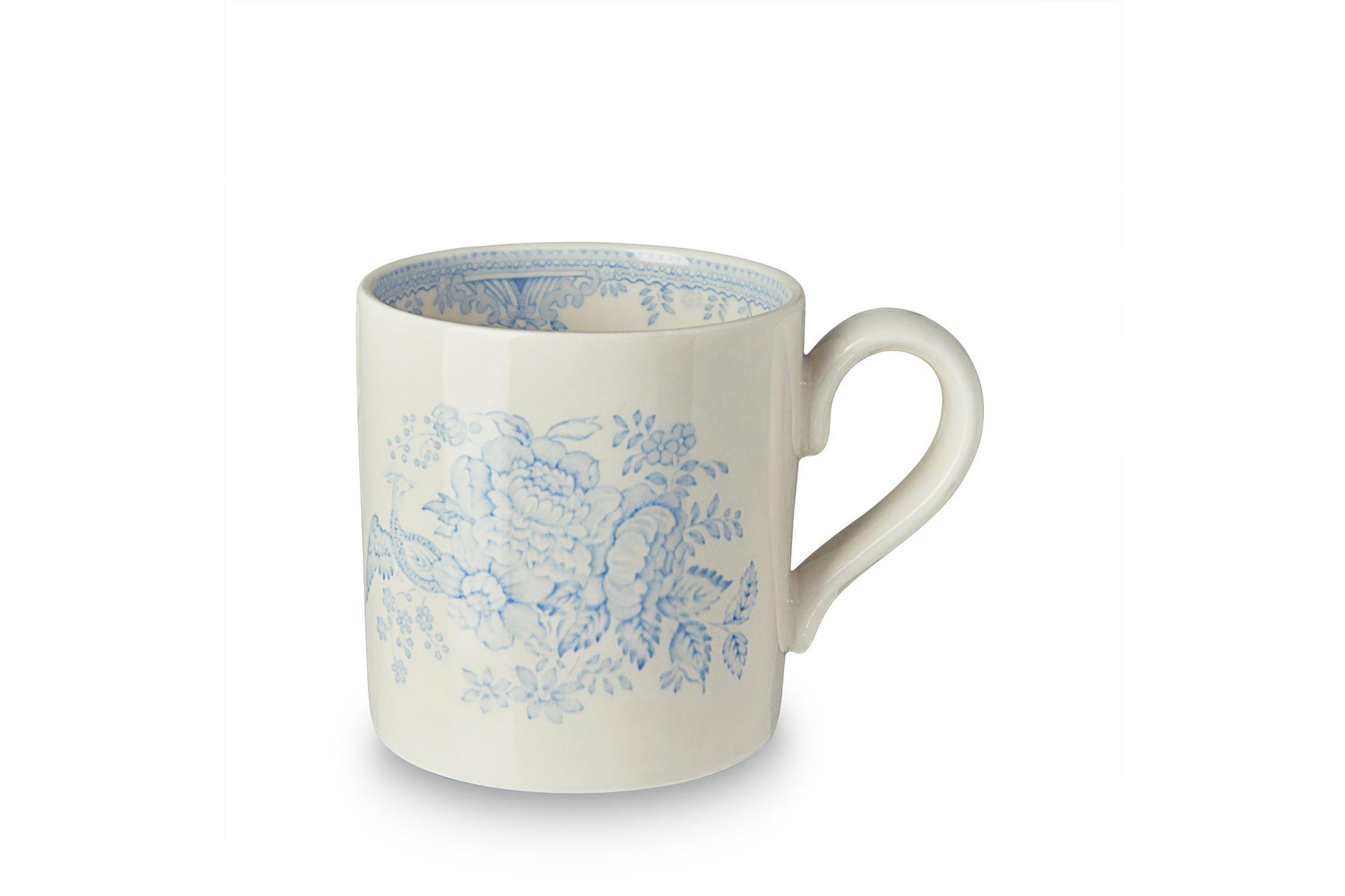 "Burleigh Blue Asiatic Pheasants Mug 3 1/2 x 3 1/2"" thumb 1"