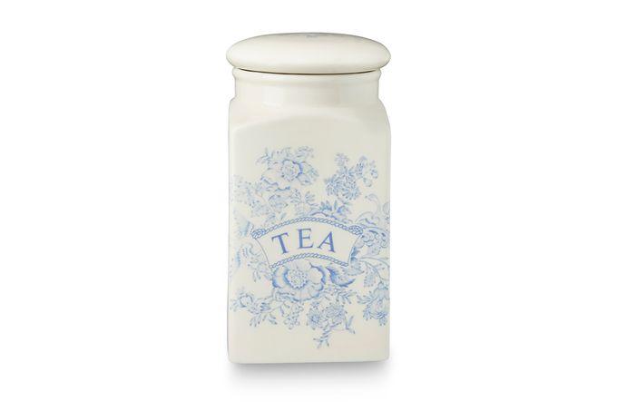 Burleigh Blue Asiatic Pheasants Storage Jar + Lid Tea