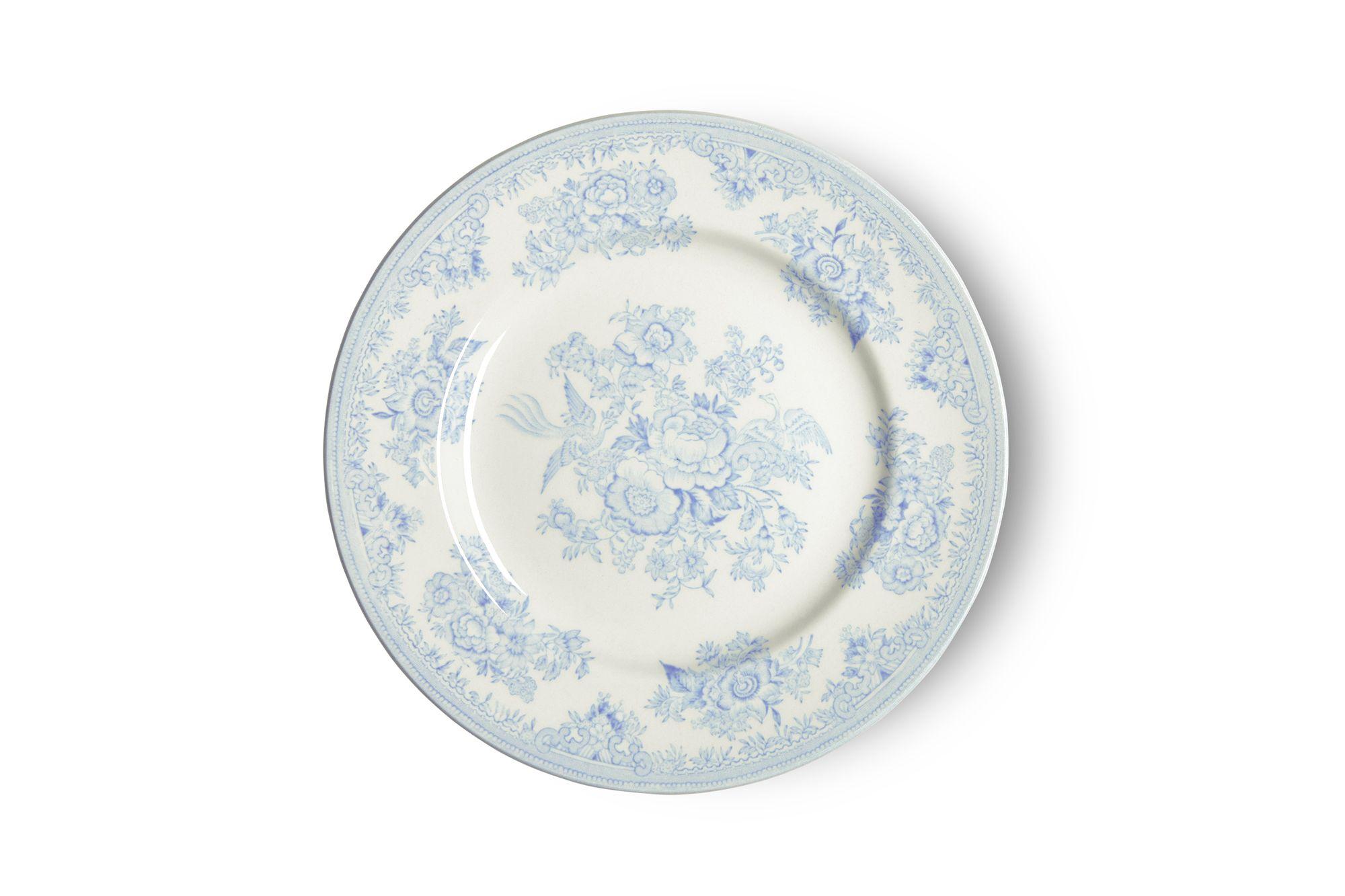"Burleigh Blue Asiatic Pheasants Tea / Side / Bread & Butter Plate 7"" thumb 1"