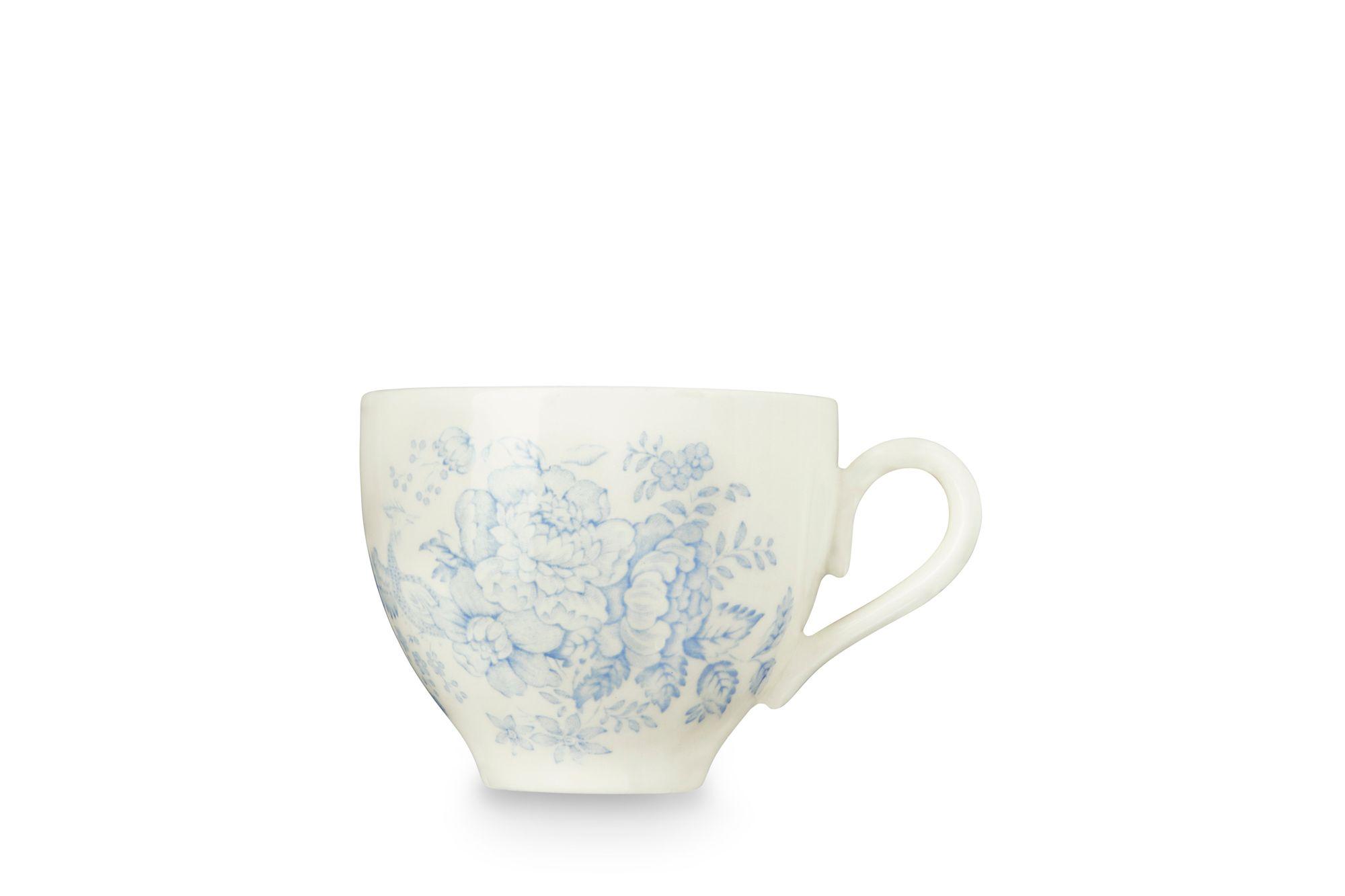 "Burleigh Blue Asiatic Pheasants Teacup 3 1/4 x 2 3/4"" thumb 1"