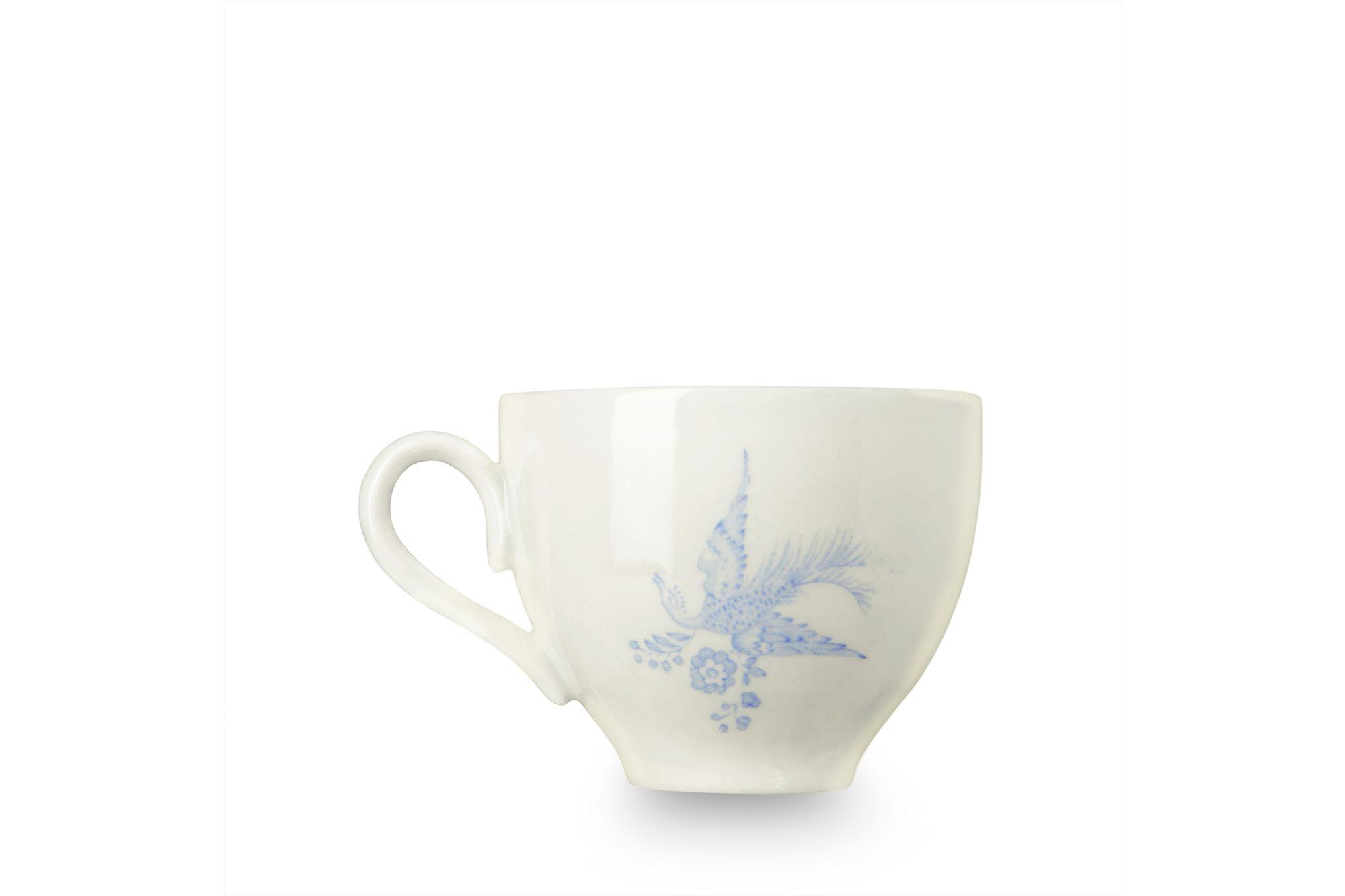 "Burleigh Blue Asiatic Pheasants Teacup 3 1/4 x 2 3/4"" thumb 2"