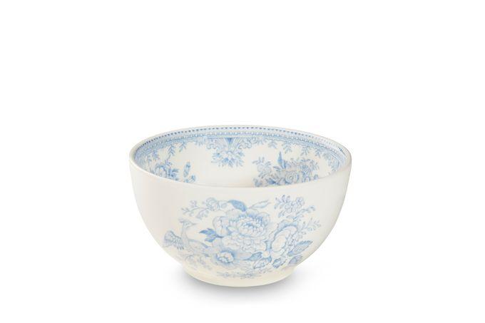 """Burleigh Blue Asiatic Pheasants Sugar Bowl - Open (Tea) 4 3/4"""""""
