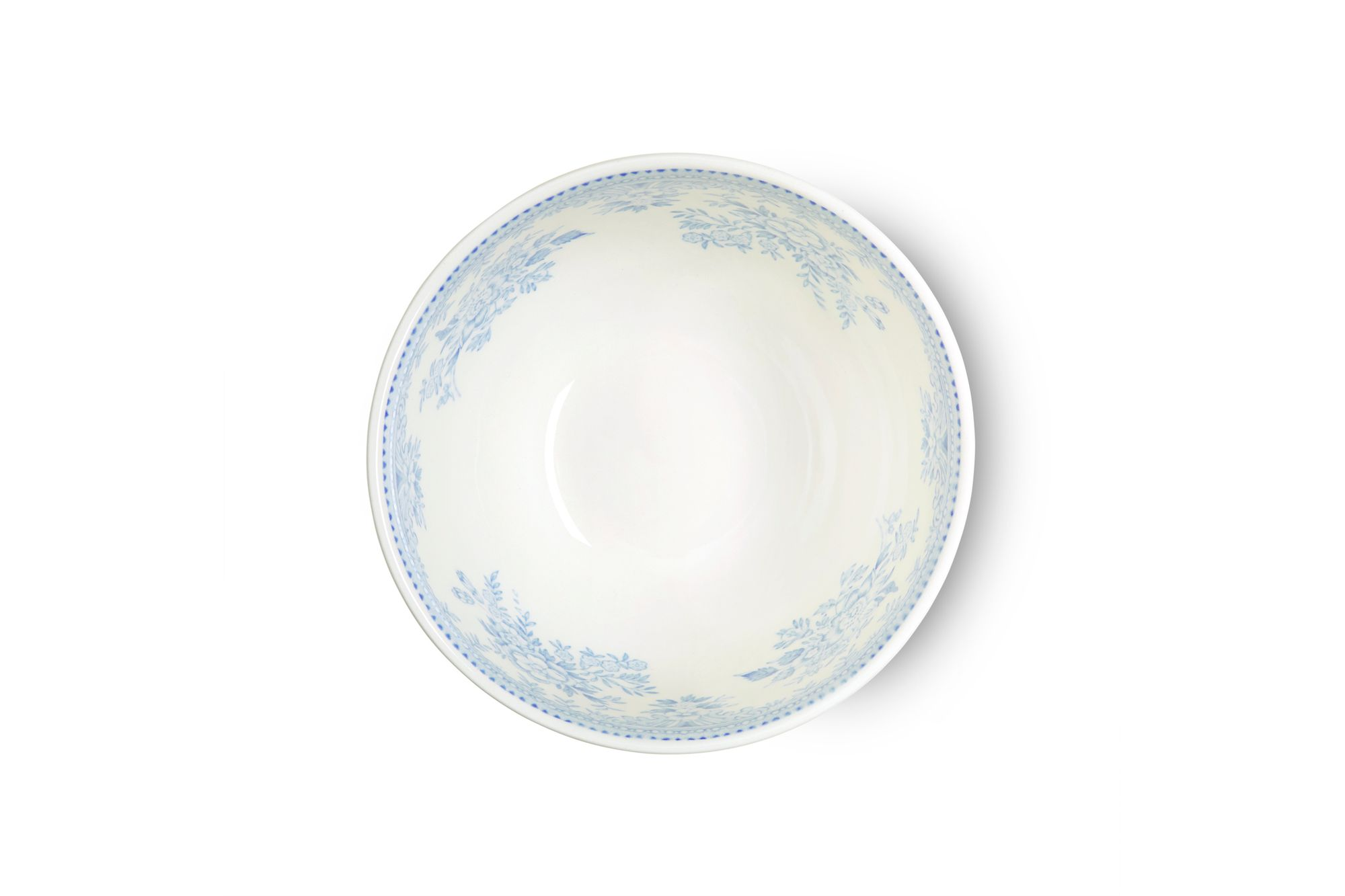 """Burleigh Blue Asiatic Pheasants Sugar Bowl - Open (Tea) 4 3/4"""" thumb 2"""
