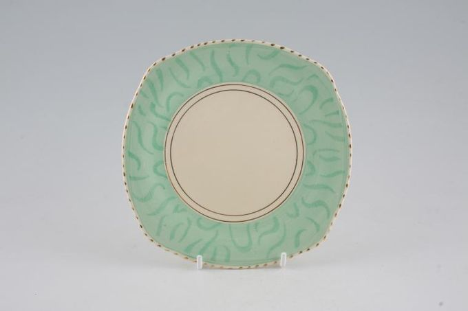 """Burleigh Balmoral Tea / Side / Bread & Butter Plate Square 5 3/4"""""""