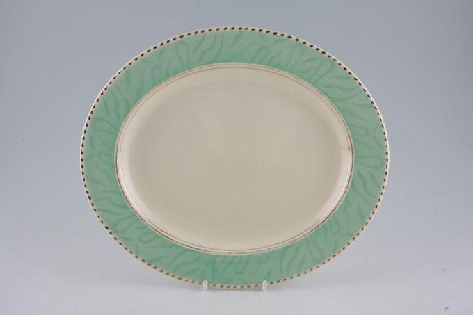 """Burleigh Balmoral Oval Plate / Platter 11"""""""