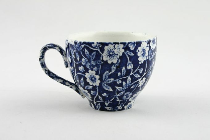 Burleigh Blue Calico Coffee Cup 2 3/4 x 2 1/8""