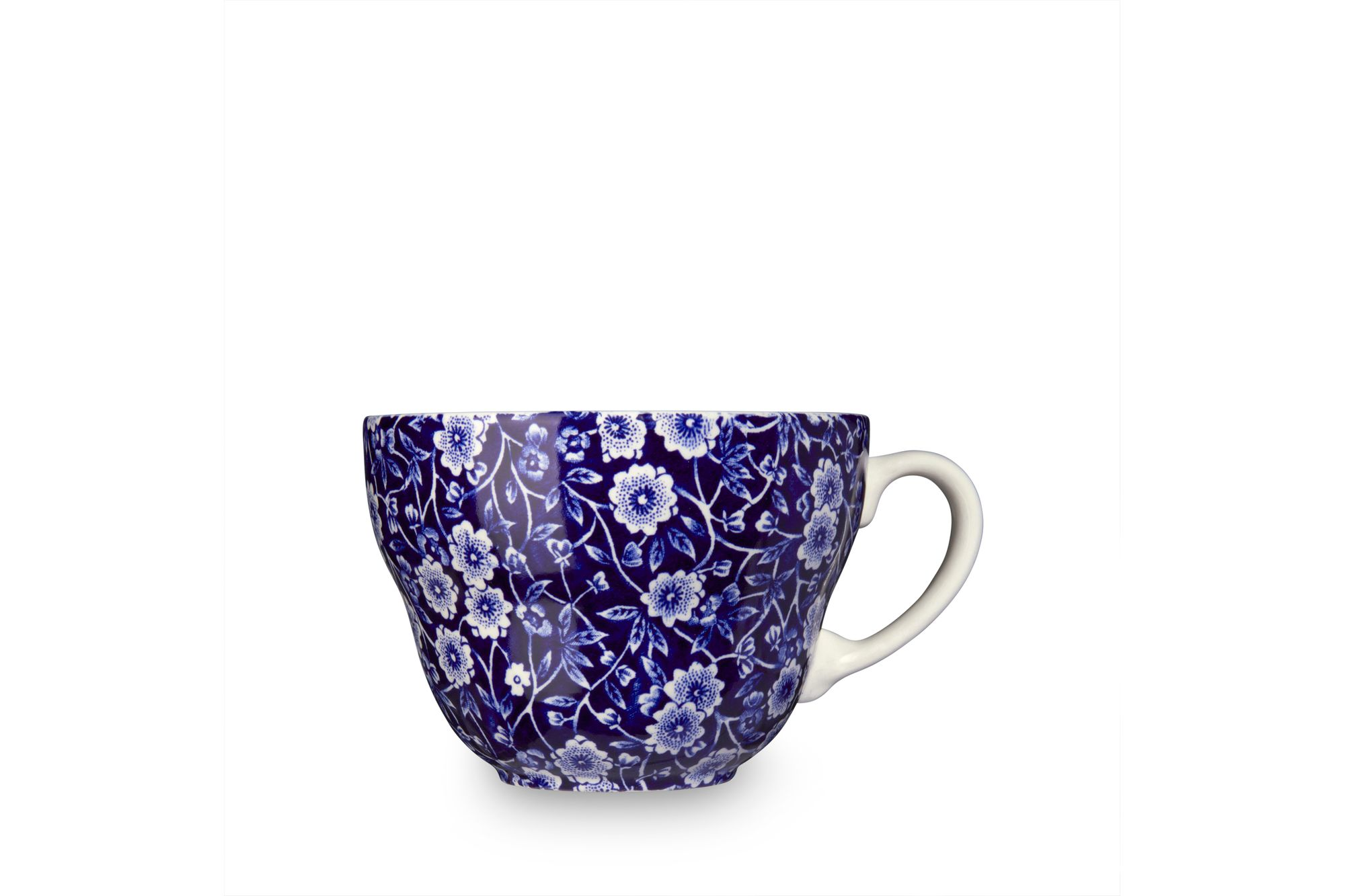 "Burleigh Blue Calico Breakfast Cup 4 3/8 x 3"" thumb 1"