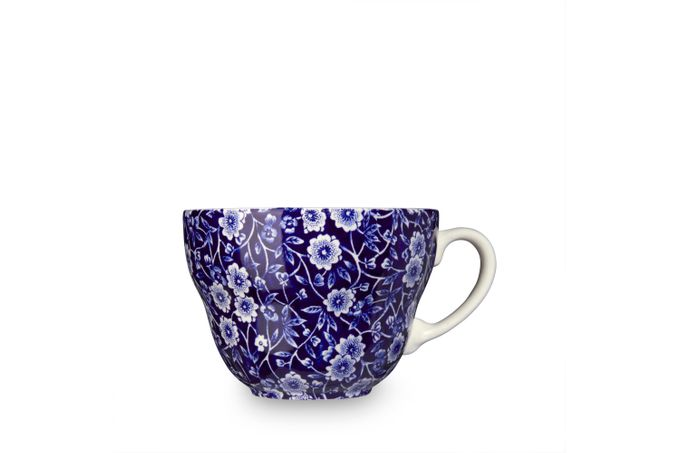 Burleigh Blue Calico Breakfast Cup 4 3/8 x 3""