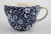 "Burleigh Blue Calico Breakfast Cup 4 3/8 x 3"" thumb 2"
