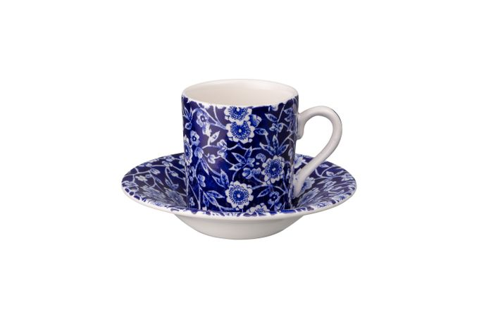Burleigh Blue Calico Espresso Cup Cup Only 75ml