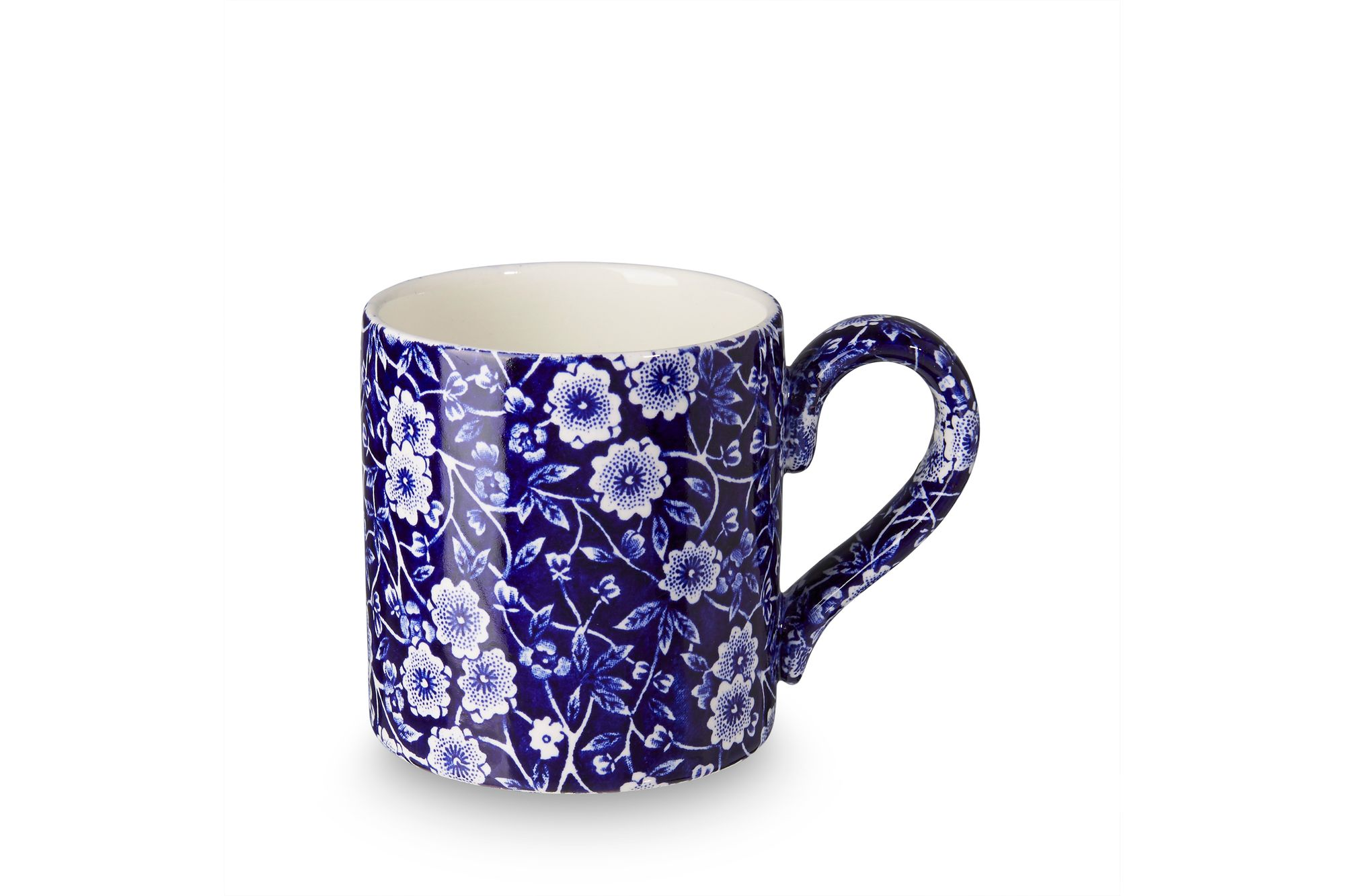Burleigh Blue Calico Mug 1/2pt thumb 1