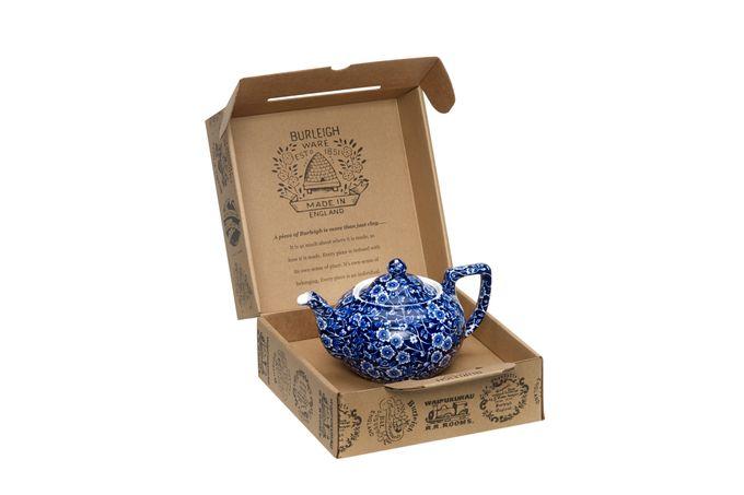 Burleigh Blue Calico Teapot Gift Set