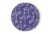 "Burleigh Blue Calico Dinner Plate 10 3/8"" thumb 1"