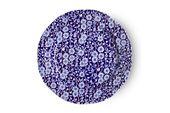 "Burleigh Blue Calico Starter / Salad / Dessert Plate 8 3/8"" thumb 1"