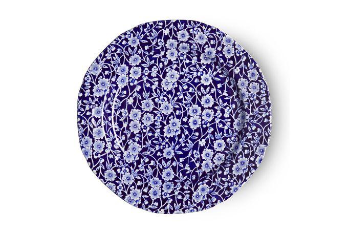 "Burleigh Blue Calico Starter / Salad / Dessert Plate 8 3/8"""