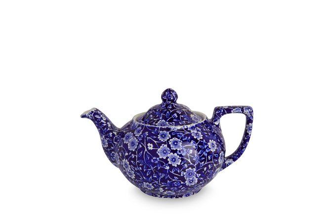 Burleigh Blue Calico Teapot 1pt