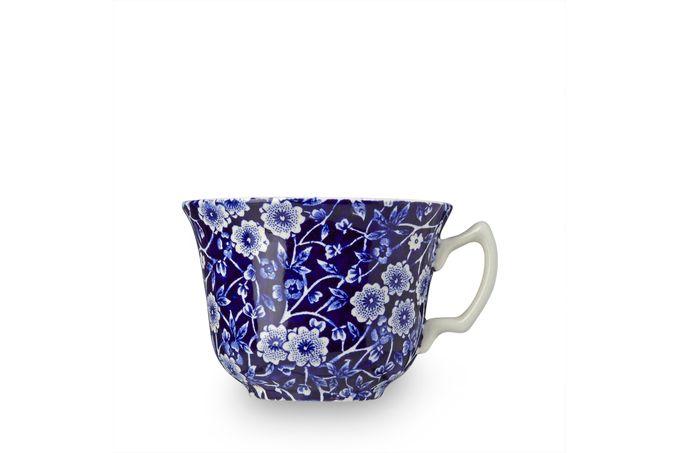 """Burleigh Blue Calico Teacup 3 5/8 x 2 5/8"""""""