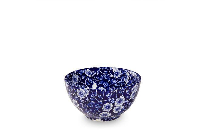 """Burleigh Blue Calico Sugar Bowl - Open (Coffee) 3 7/8"""""""