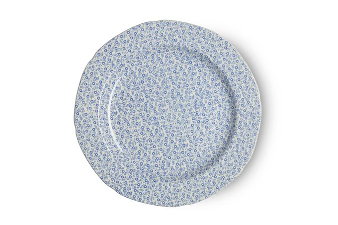 "Burleigh Blue Felicity Dinner Plate 10 1/2"""